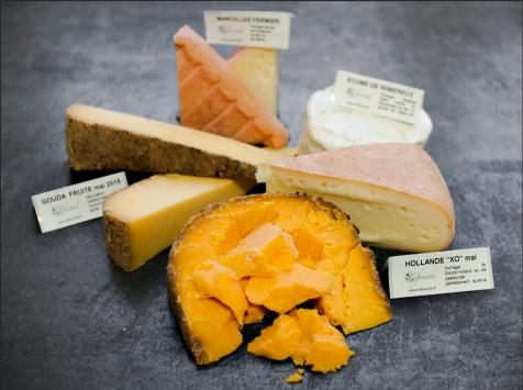 La Finarde - Plateau de 5 fromages : saveurs des Bas Pays