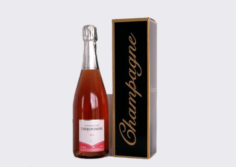 Champagne Deneufchatel - Coffret Champagne Rosé