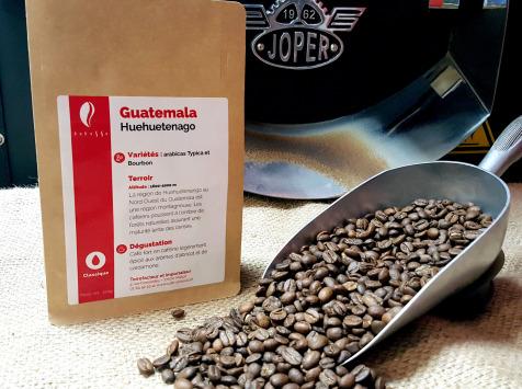 Brûlerie de Melun-Maison Anbassa - Café Huehuetenago-guatemala-mouture Fine-espresso