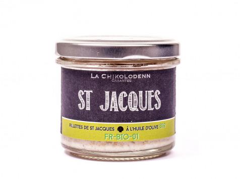 La Chikolodenn - Rillettes De Saint Jacques À L'huile D'olive Bio