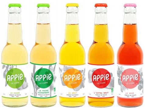 Appie - Cidre APPIE - PACK DÉCOUVERTE de 12 x 33cl