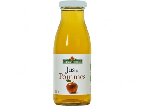 Les Côteaux Nantais - Jus Pommes 25 Cl