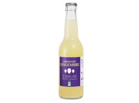 Les Jarres Crues - Limonade Gingembre BIO - 33 cl