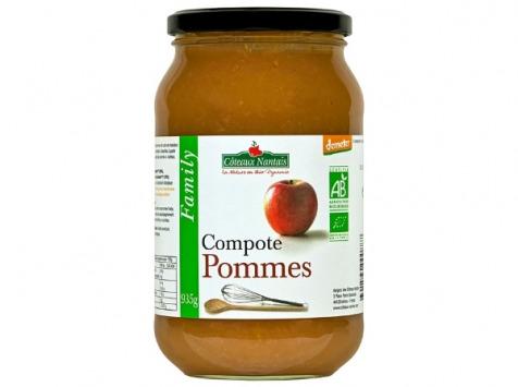 Les Côteaux Nantais - Compote Pommes 935g  Demeter