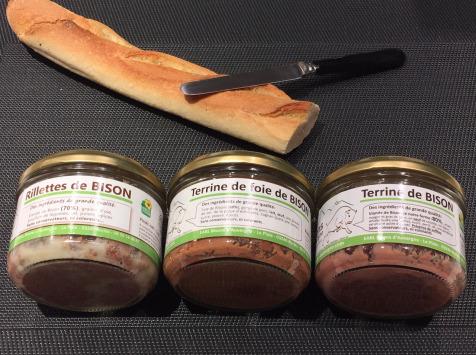 Bisons d'Auvergne - Le Coffret 'apéro Trio Bison'