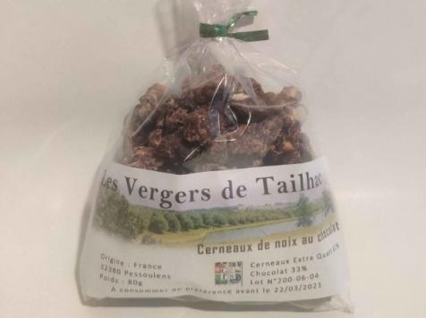 Les Vergers De Tailhac - Cerneaux de Noix au Chocolat