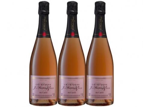 Champagne J. Martin et Fille - Brut Rosé - 3x75cl