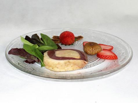 Ferme de Pleinefage - Tournedos de magret de canard au foie gras entier x4