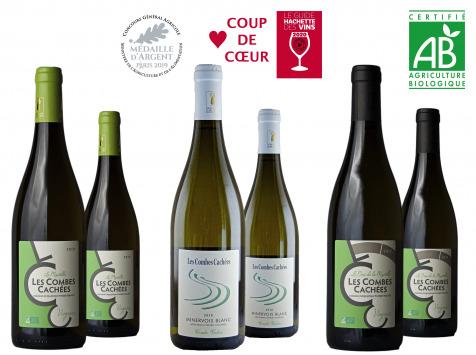 Domaine Les Combes Cachées - [REVOIR OFFRE] Coffret Découverte Blancs du Languedoc : 2 Minervois Blanc + 4 Viognier