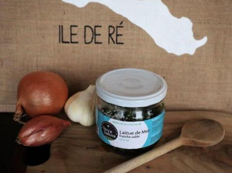 LA FERME DES BALEINES - Laitue De Mer Bio Fraîche Salée - 120 G - Terre Saline