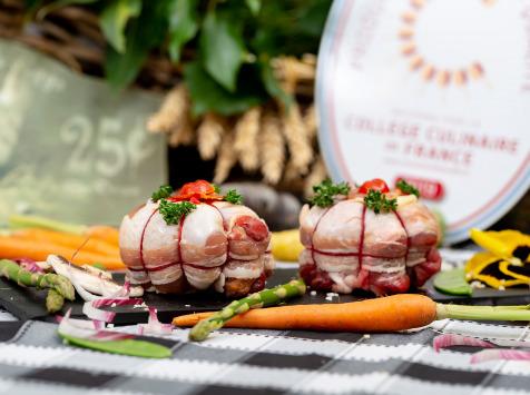 La ferme Grandvillain - Melons De Poulet Chorizo Et Emmental 4 X 200 G
