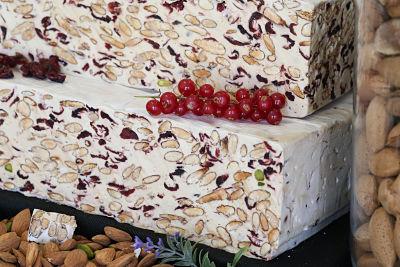 Nougats Laurmar - Nougat Aux Cranberries