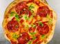 Les Saveurs d'Amatxi - Pizza Chorizo Poivron - 30 cm - précuite
