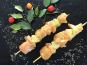 Terre de Gallie - Brochettes de poulet marinées curry coco X4