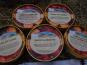 Les Glaces de la Promesse - Colis Craquant : Glace Kinder, Noisette, Nougat De Montélimar, Cookies Et Banane Chocolat - 5x 500ml