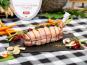 La ferme Grandvillain - Rôti De Pintade Bacon Et Pruneaux 1200 G