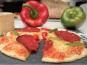 Les Saveurs d'Amatxi - Pizza Chorizo Poivron - 2 pièces de 20 cm précuites
