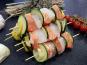 Poissonnerie Le Marlin - Brochette De Saumon Et Cabillaud - 2 Pièces De 200g