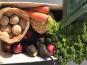 La Ferme du Polder Saint-Michel - Panier de légumes BIO Le Basique - 3kg