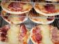 Les Saveurs d'Amatxi - Pizza Jambon de Bayonne - 2 pièces de 20 cm précuites